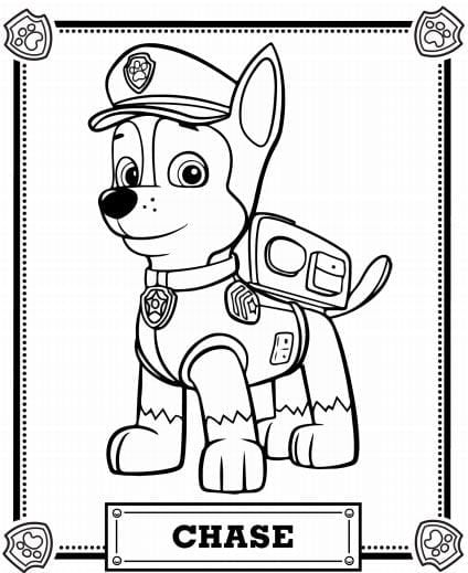 Stunning Idea Paw Patrol Coloring Pages Free The Top 10 Paw