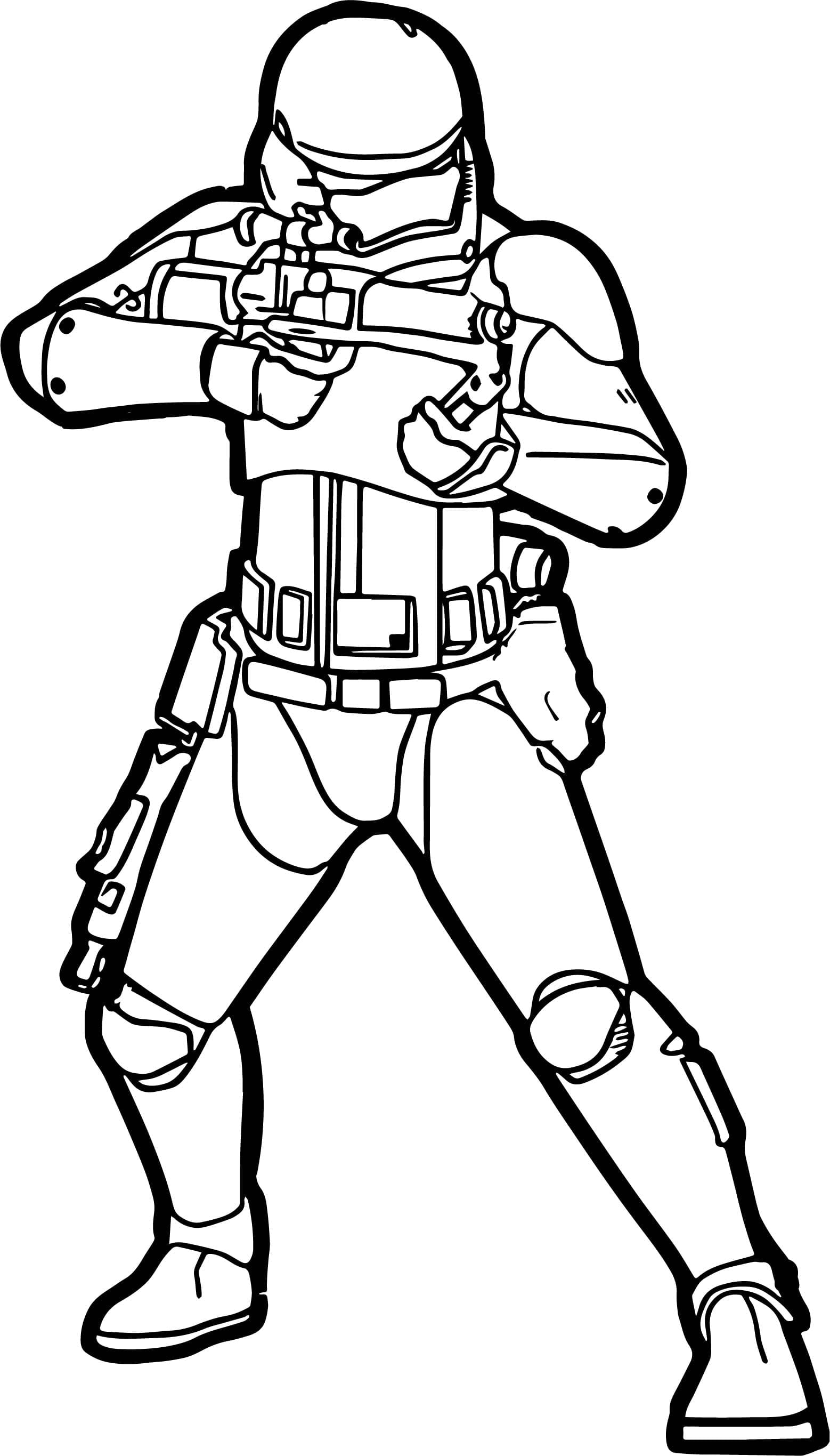 Extraordinary Star Wars Stormtrooper Coloring Pages With Showy
