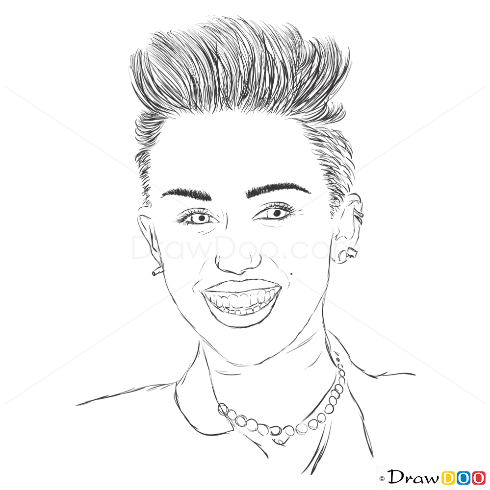 Celebrity Coloring Pages