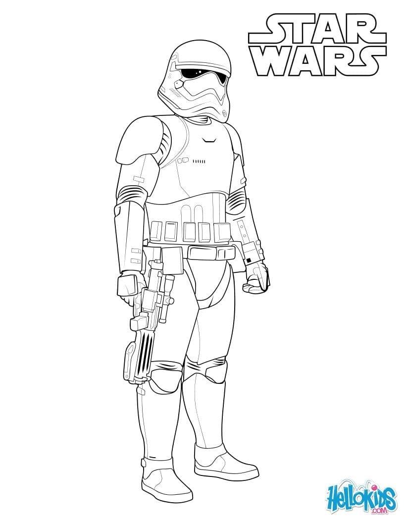 Stormtrooper Coloring Pages Hellokids Com Best Of Storm Trooper