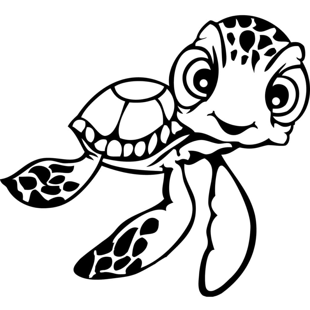 Strange Sea Turtle Coloring Sheet Rare Pages F  1089
