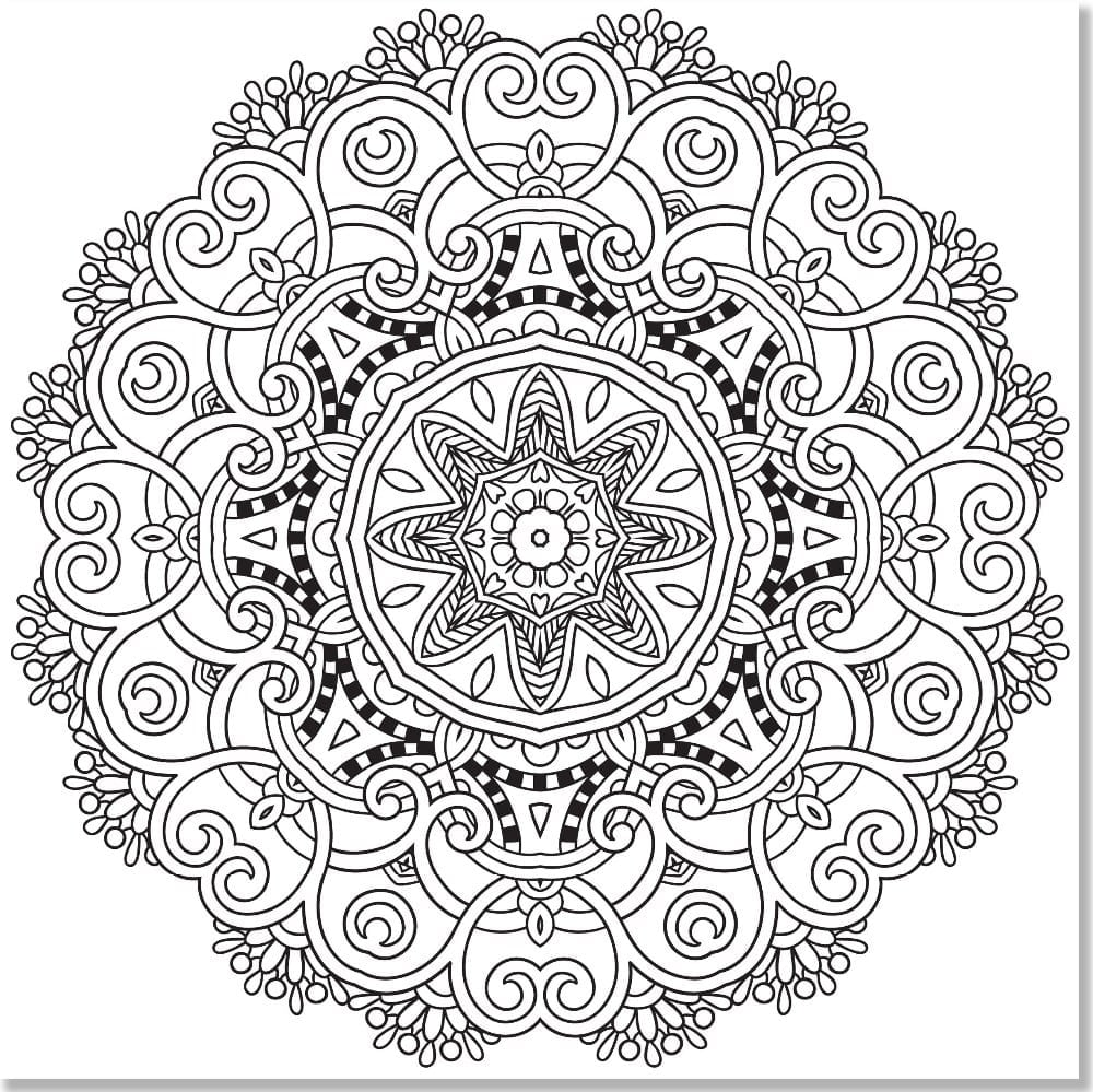 Stress Coloring Book Relief Walmart Anti Pdf Download Art Therapy