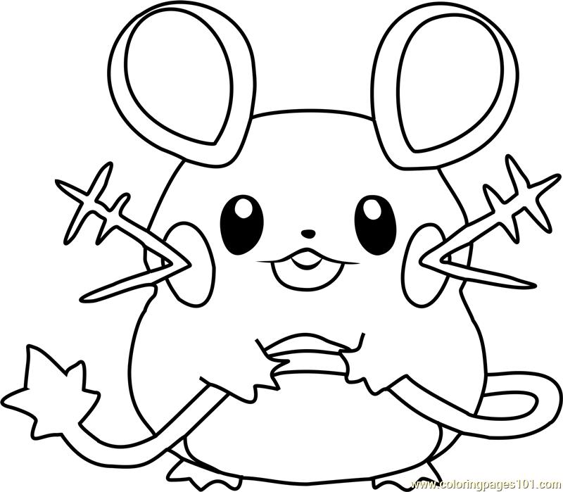 Marvelous Ideas Pokémon Coloring Pages Pokemon Coloring Pages Free