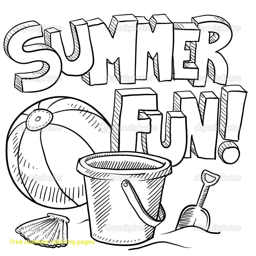 Summer Coloring Page Love Pages 4 At With Ribsvigyapan Jade Summer