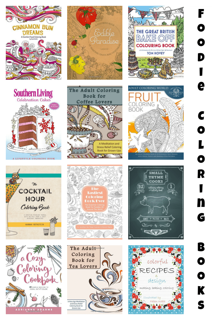 Best Adult Coloring Books For Foodies!