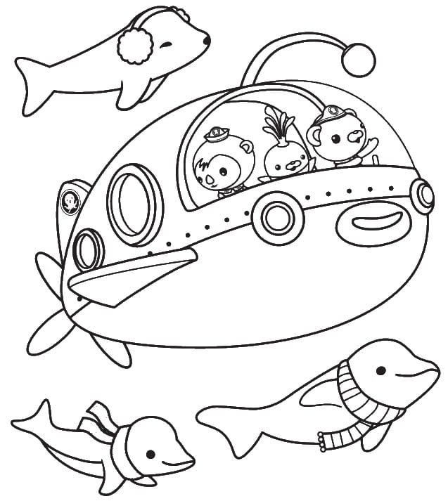 Coloring Page Php Site Image Octonauts Coloring Pages At Coloring