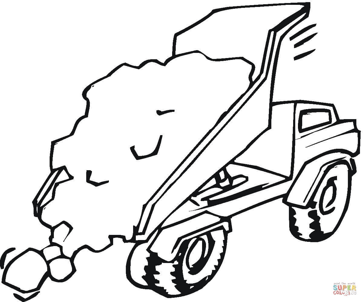 Construction Vehicles Coloring Pages
