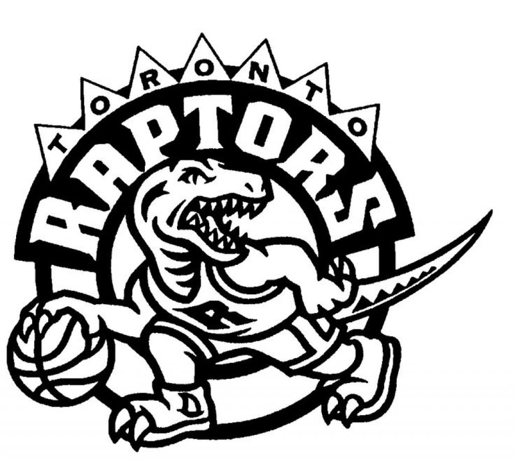 Toronto Raptors Team Nba Coloring Pages