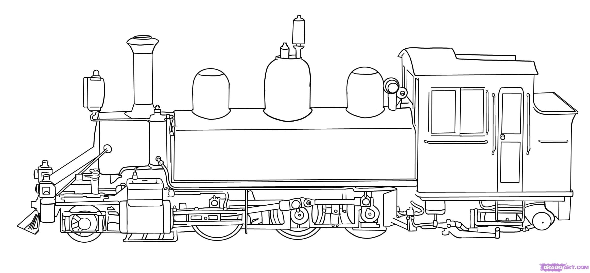 Train Color Page In Free Coloring Pages Printable