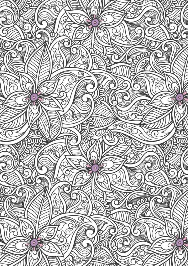 Trend Anti Stress Coloring Book