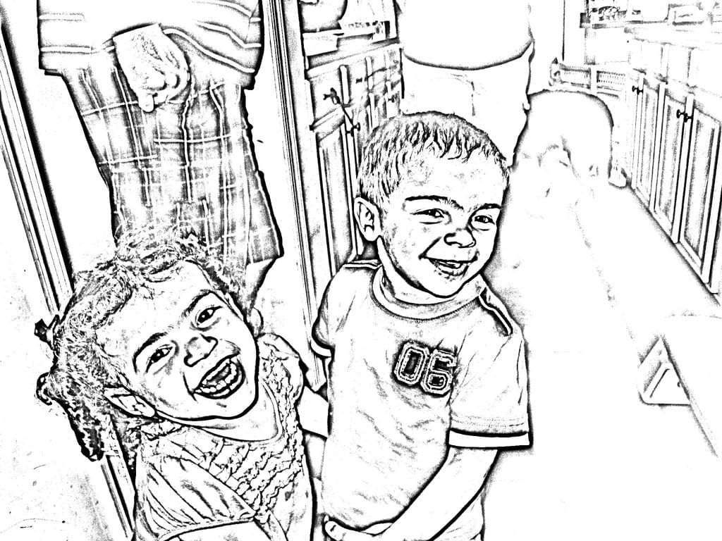 Turn Picture Into Coloring Page Photos Book Ribsvigyapan How To