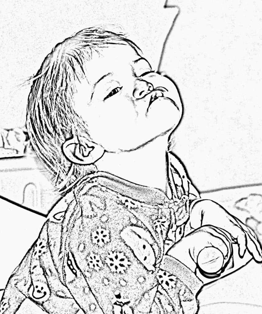 Turn Picture Into Coloring Page Photoshop 4237 Turn Your Photo
