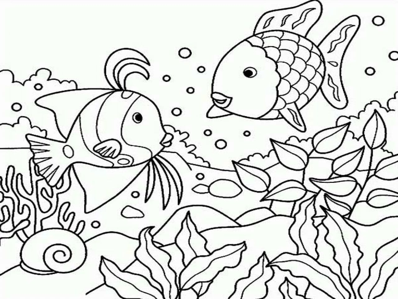 Under The Sea Coloring Pages Coloring Pages Sea Coloring Pages