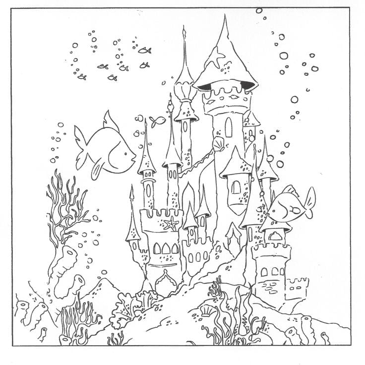 Underwater Coloring Pages The Underwater Creatures