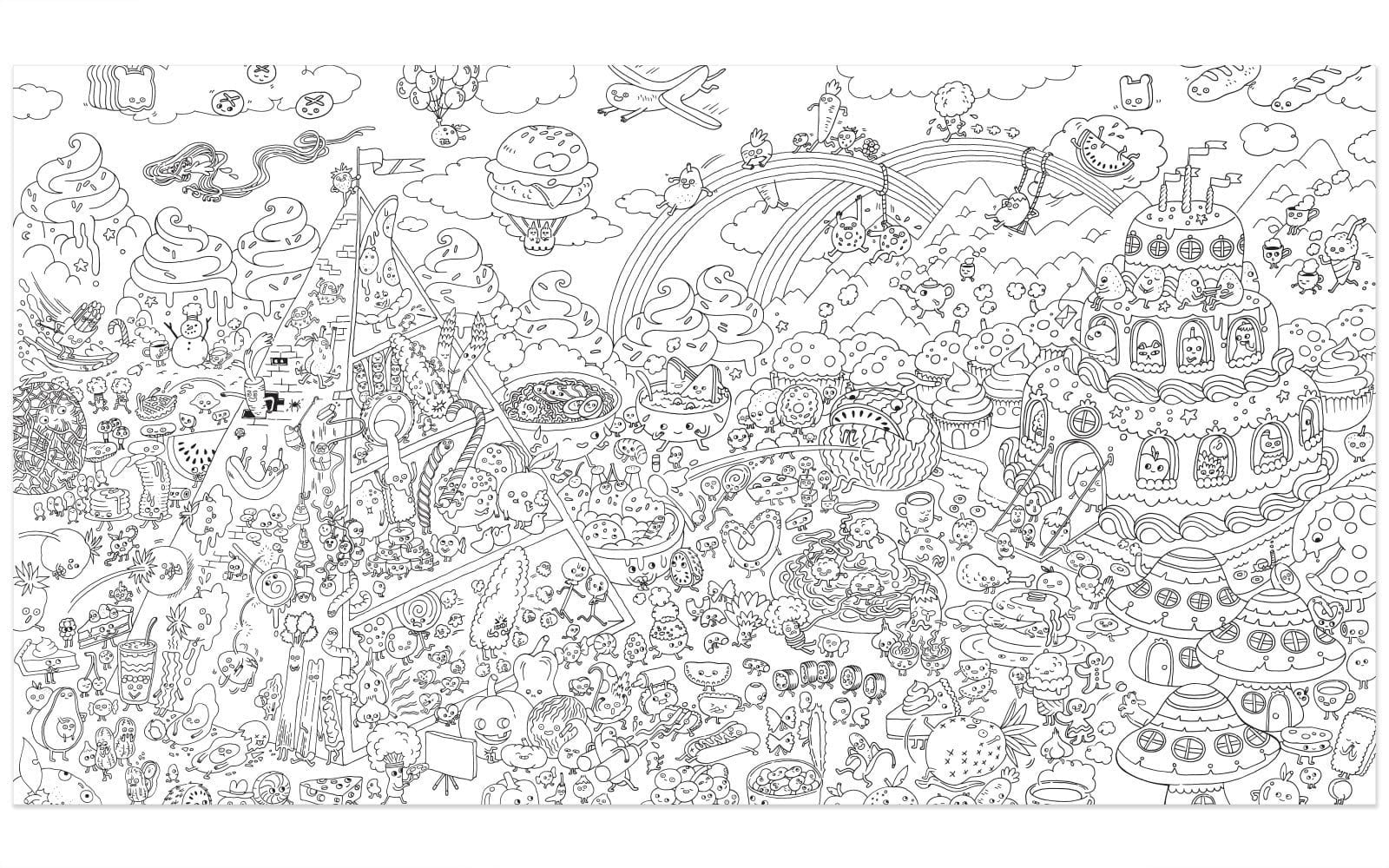 Unparalleled Adult Coloring Posters Wonderful For Adults Charming