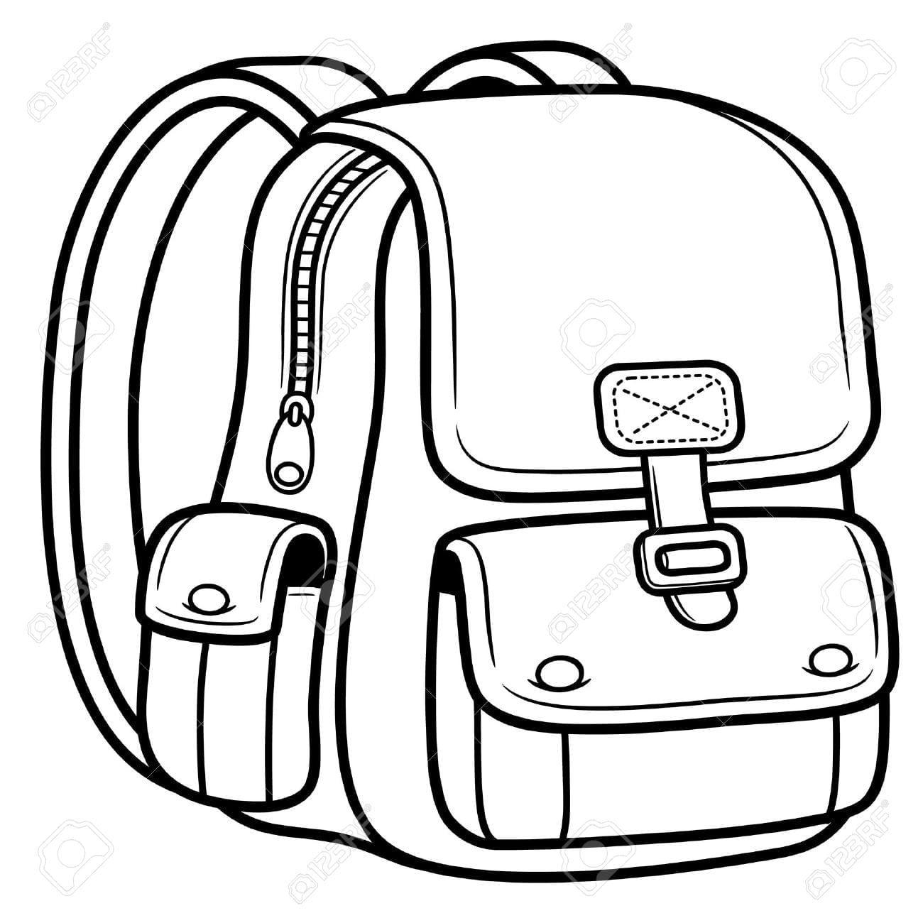 Best Backpack Coloring Sheet Interesting 11652  22623