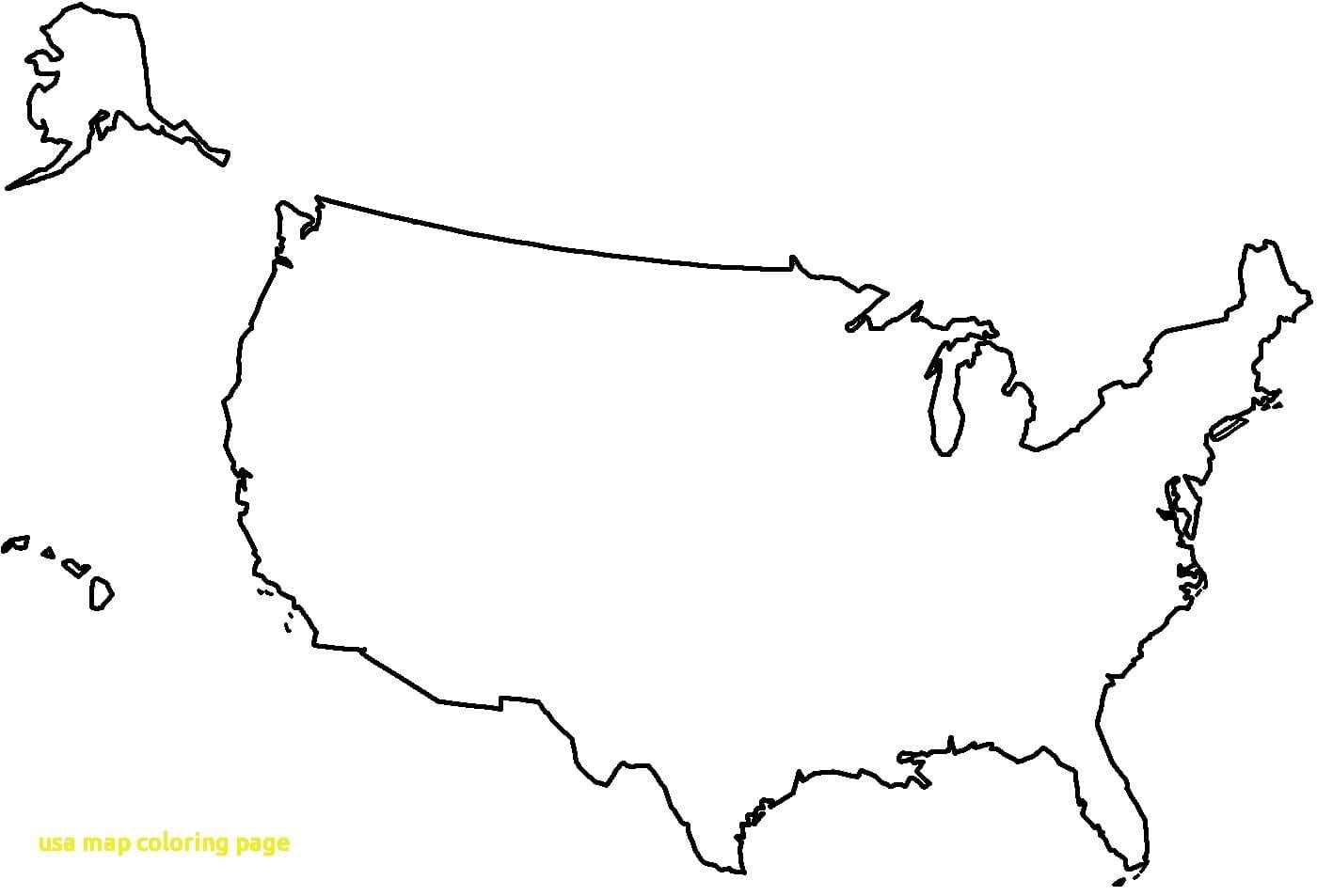 Us Map Coloring Page Usa With Blank Ribsvigyapan Coloring Map Of