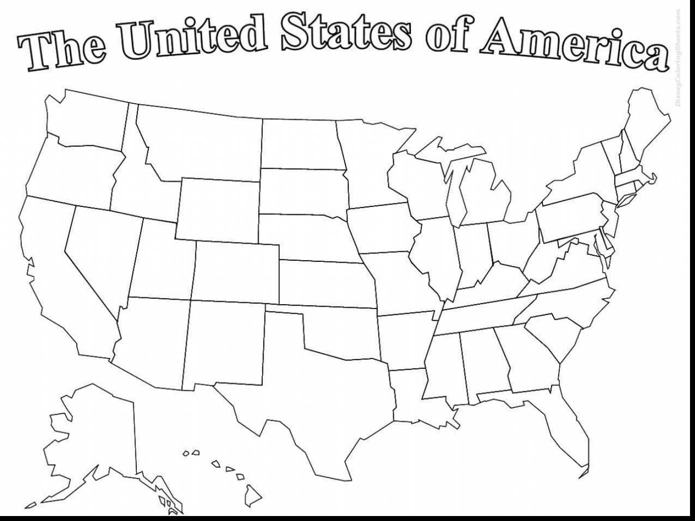 Us Map Coloring Page Wonderful United States Of America With Map