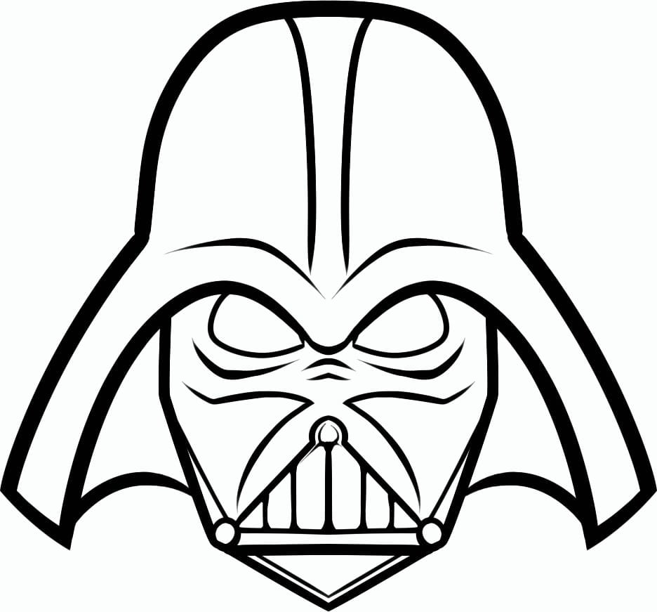 Vader Coloring Pages Best Of Darth Page