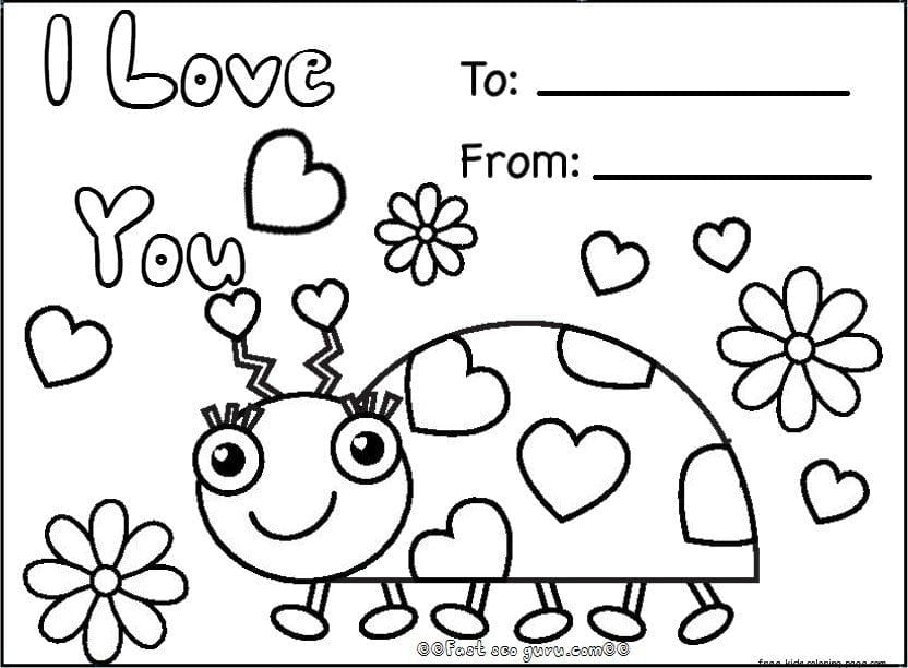 Valentine Coloring Pages 1 Free Printable Valentines Day Jpg To
