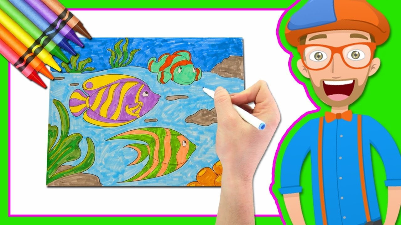 Watch Ideal Draw Coloring Book