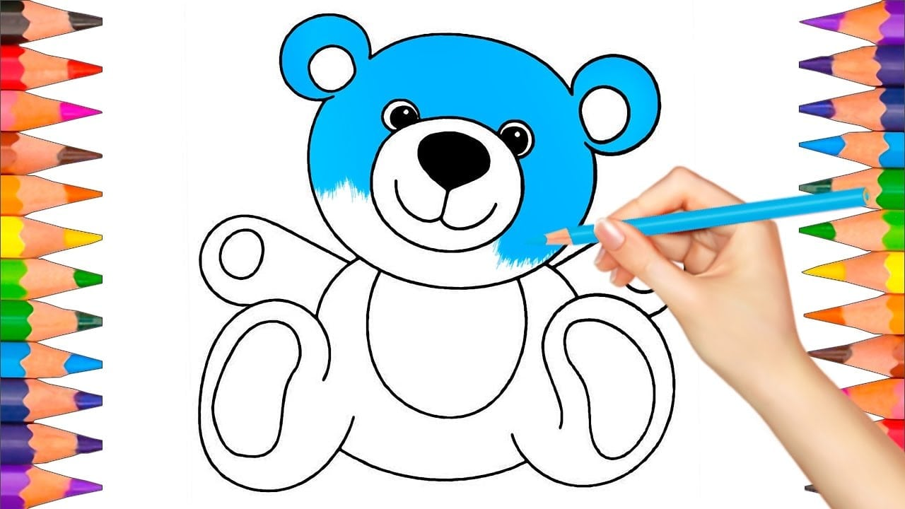 New Draw Coloring Book