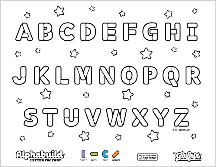 Cool Ideas Alphabet Color Pages Coloring 6 Kids