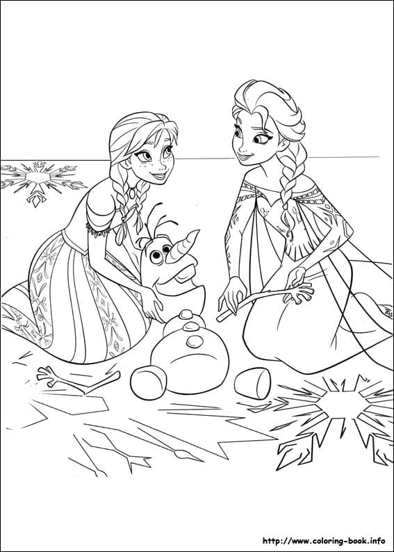 Pretty Ideas Frozen Coloring Pages To Print 35 Free Disneys
