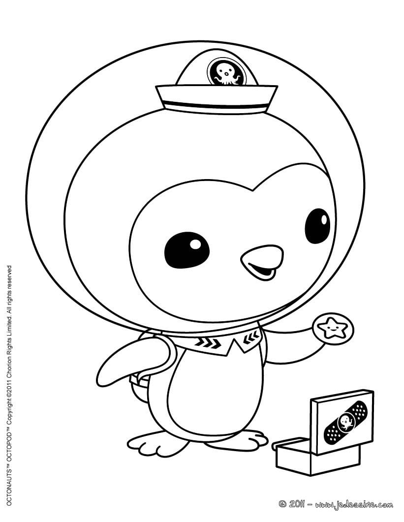 With Coloring Pages Octonauts