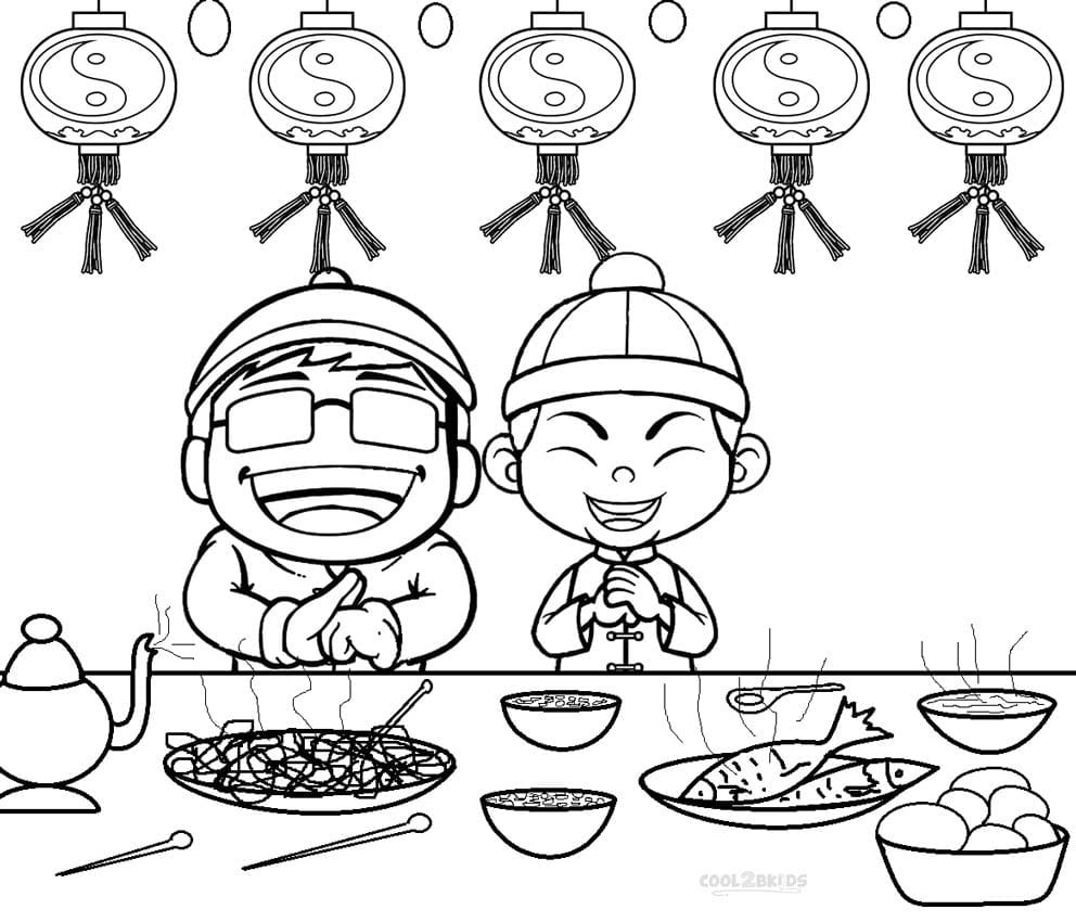 Wonderful Chinese New Year Coloring Pages 2014 Bookmontenegro Me  299