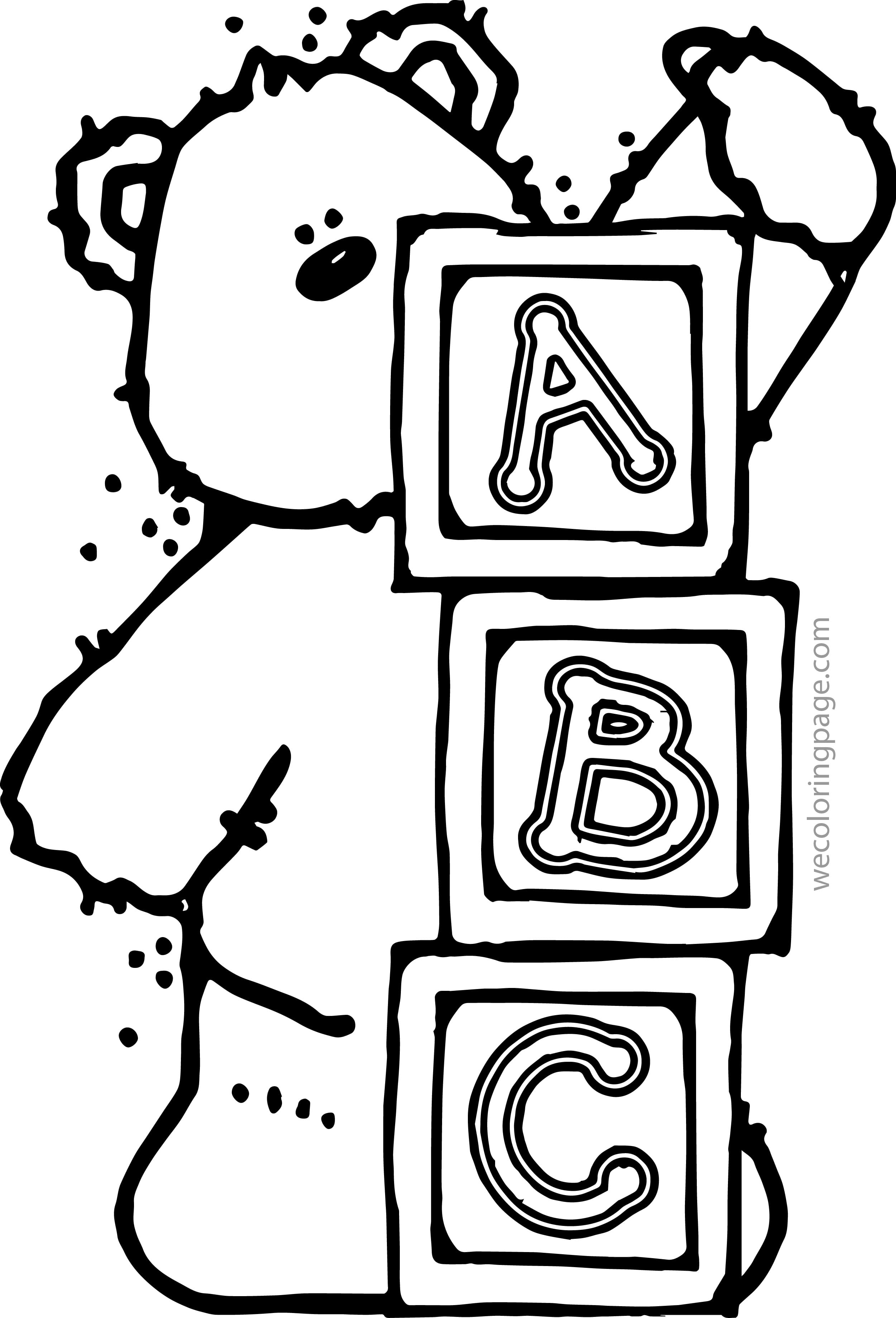 Abc Coloring Pages Wecoloringpage Coloring Book 27777