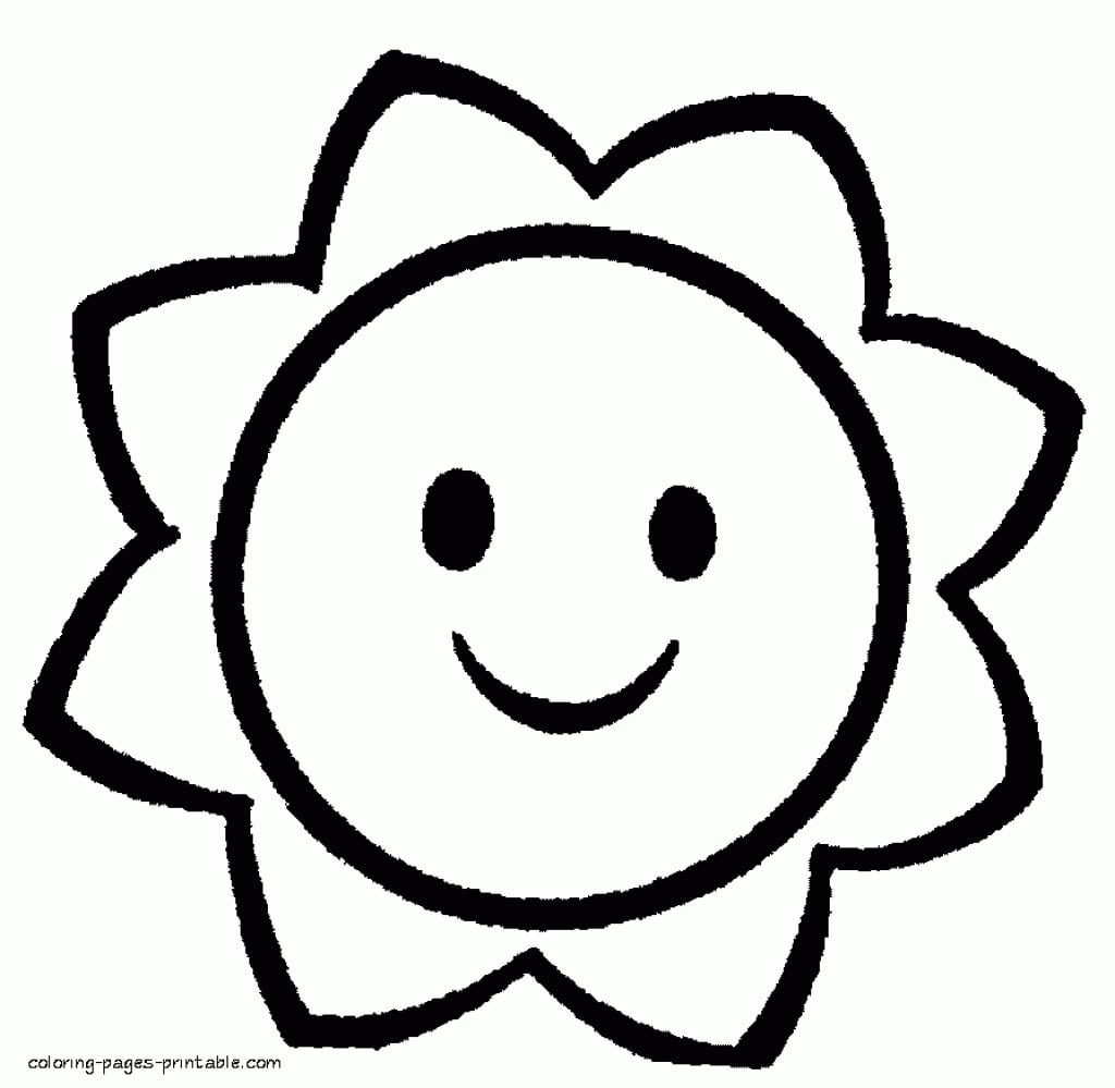 Adorable Free Printable Coloring Pages For Toddlers To Cure Inside