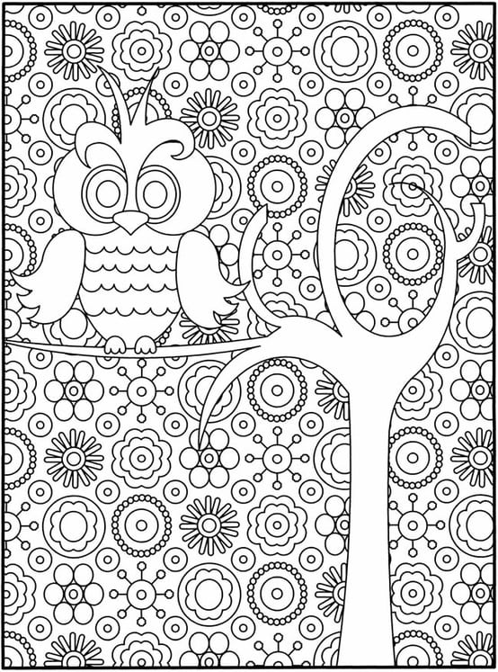 Awsome Coloring Pages Adult Page