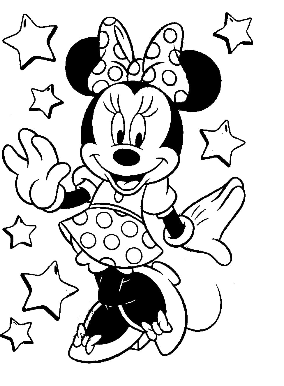 Coloring Pictures Of Minnie Mouse Google Search Pages Throughout