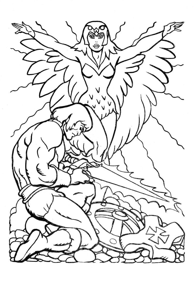 He Man Coloring Pages For Kids