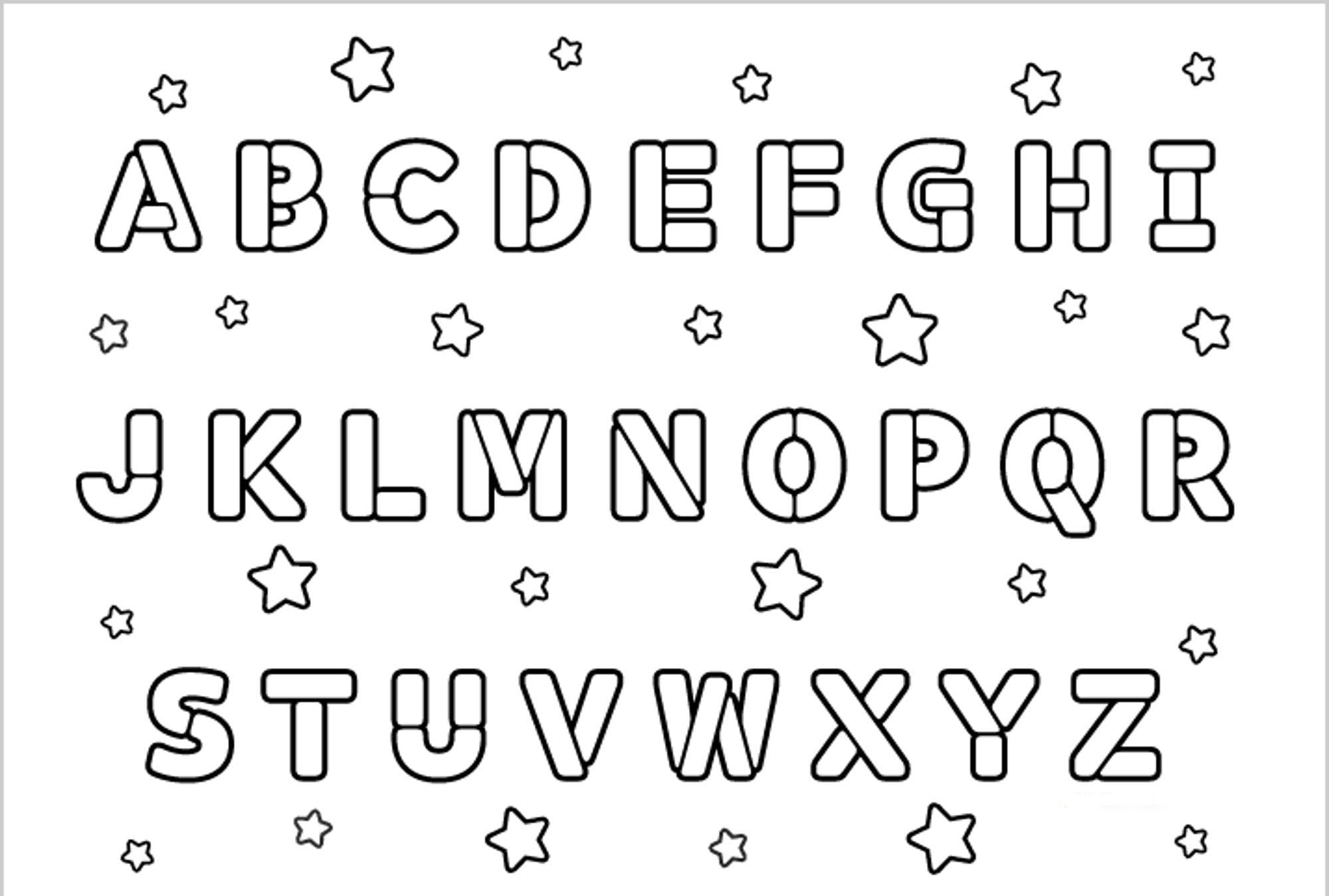 Free Printable Alphabet Coloring Pages For Kids At Abc