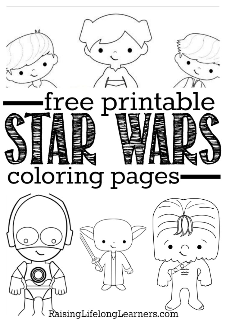 Free Printable Star Wars Coloring Pages For Fans Of All Ages In