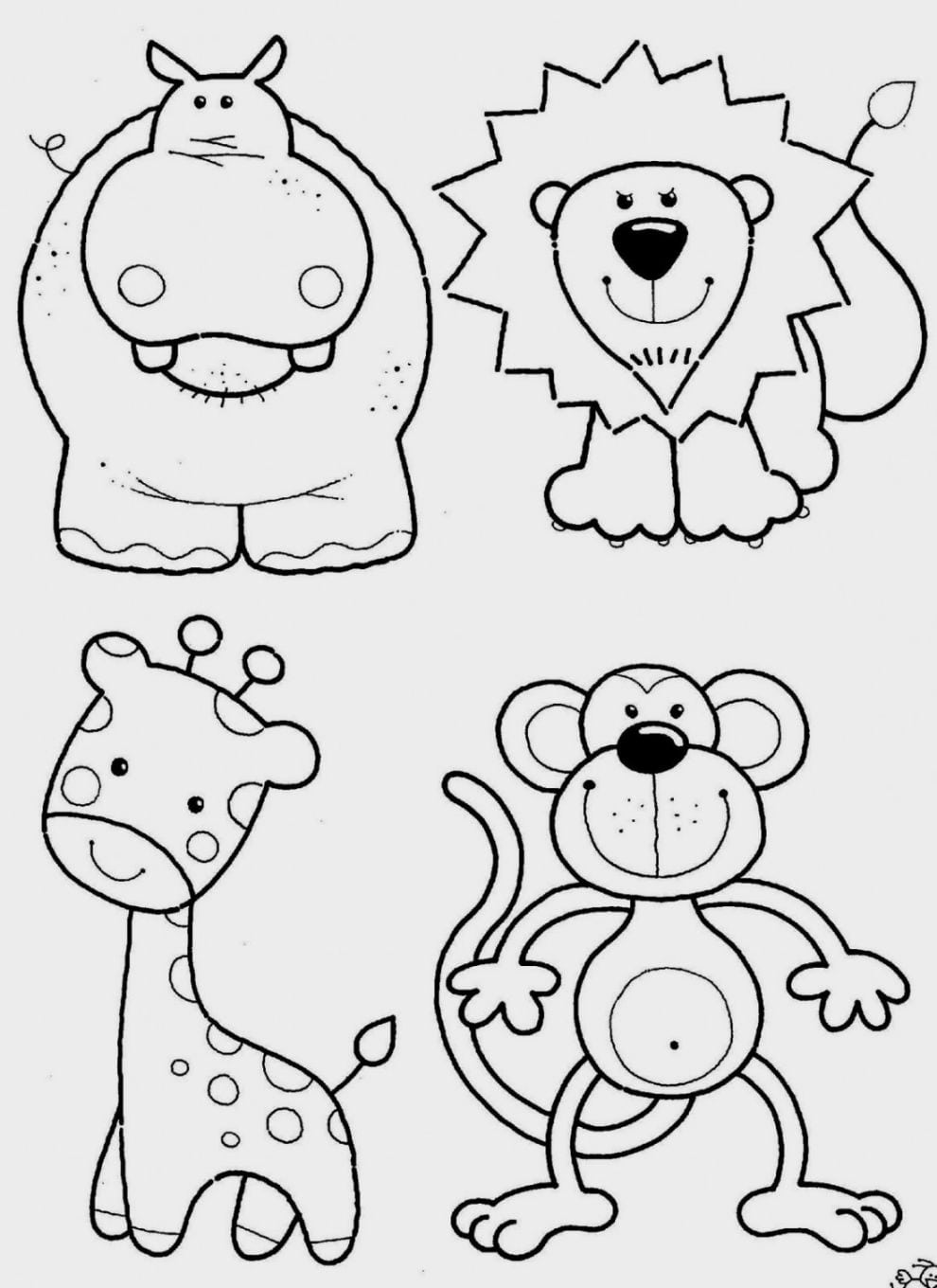 Luxury Free Printable Coloring Pages For Toddlers 4780