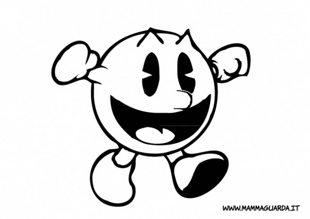 Pac Man Coloring Pages Stylish Inspiration Ideas Page Colouring