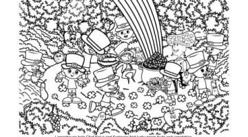 Free St Patrick Day Coloring Pages