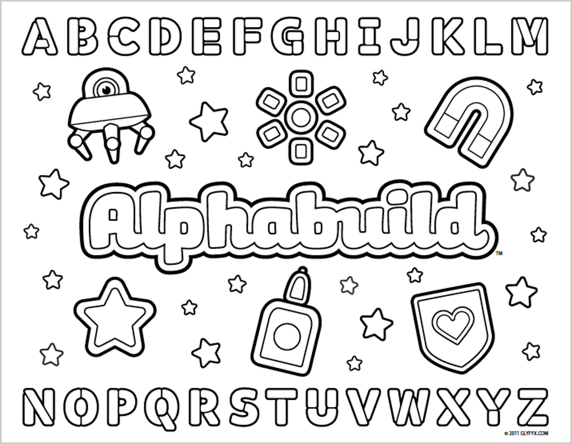 Abc Coloring Pages Menmadeho Colouring Sheets And