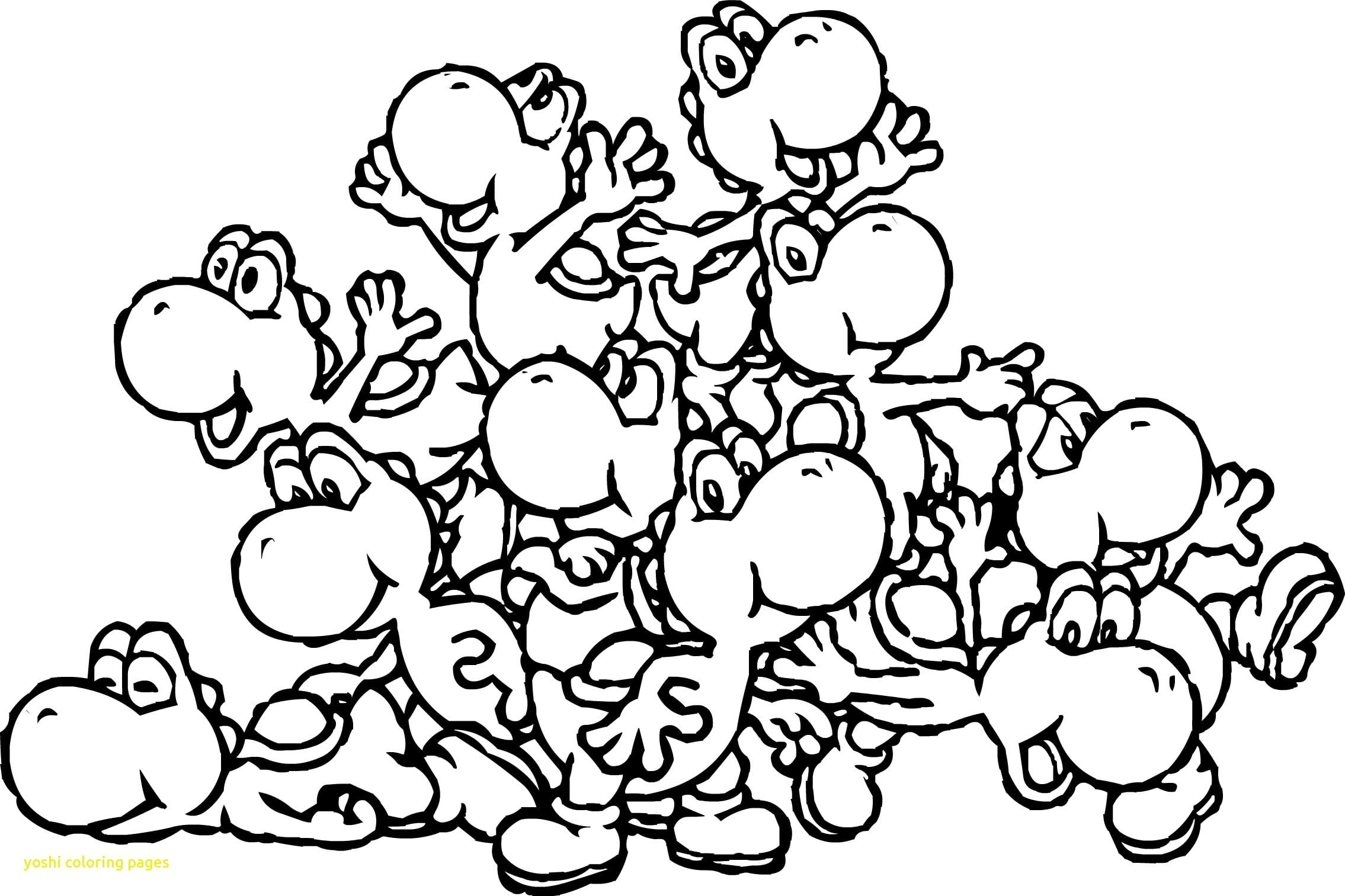 Yoshi Coloring Pages Isolution Me Throughout