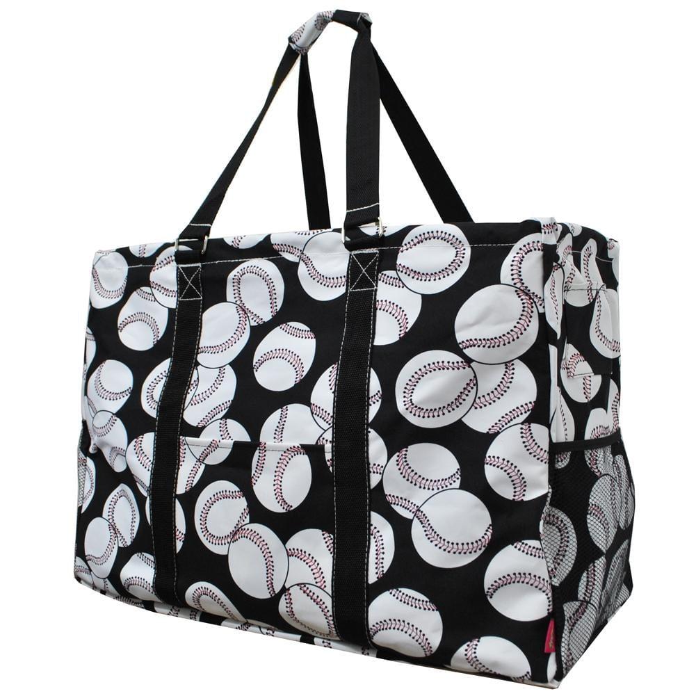 Baseball Print Mega Utility Bag