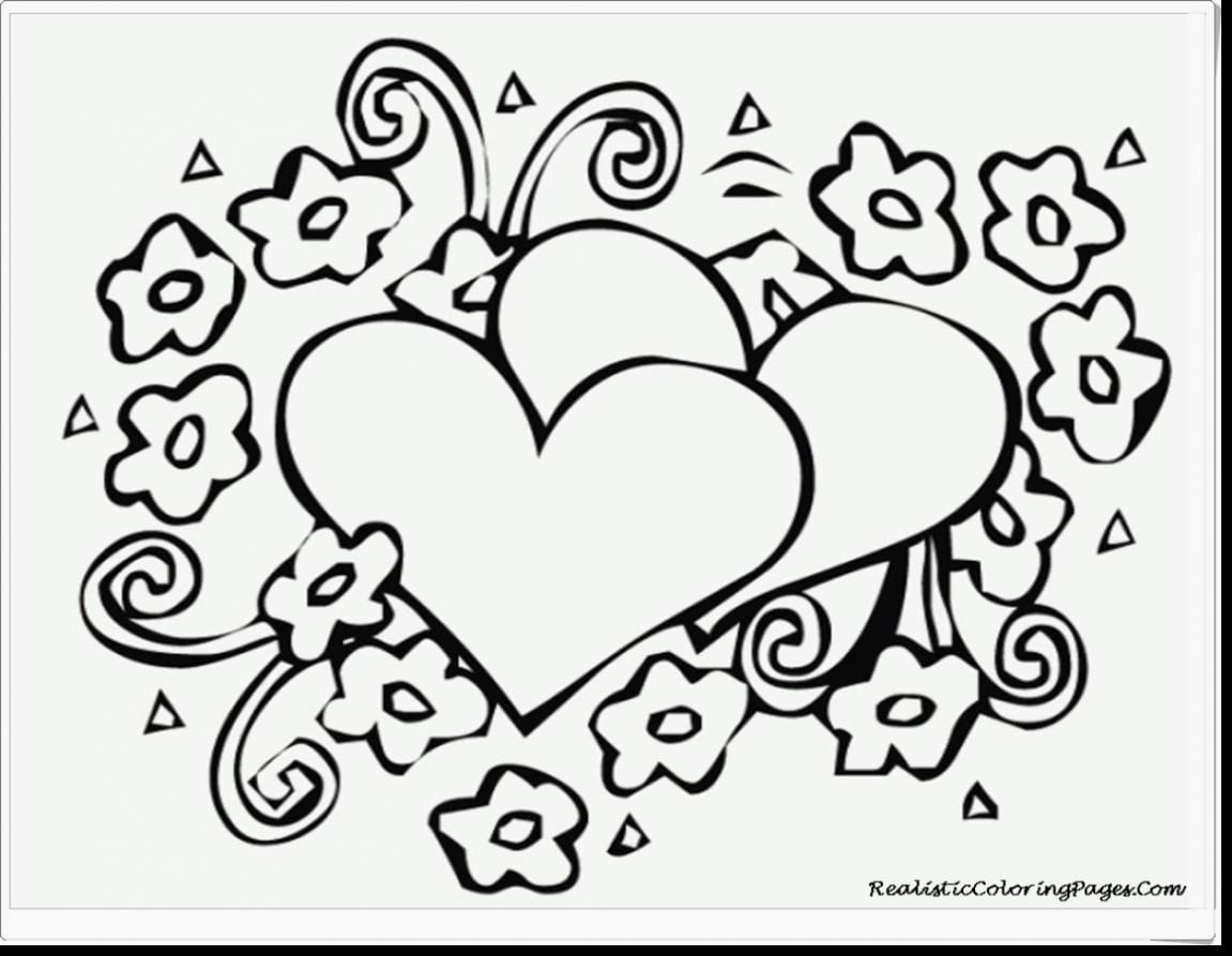 Fresh Printable Valentines Day Coloring Pages With Additional Free