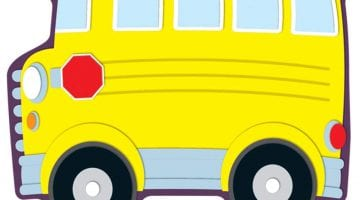 School Bus Printable