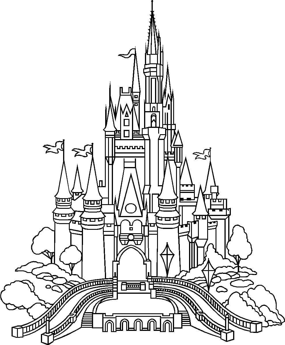 Cinderella Castle Outline