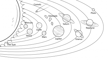 Printable Planets To Color