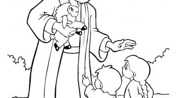 Sunday School Coloring Sheets For Toddlers