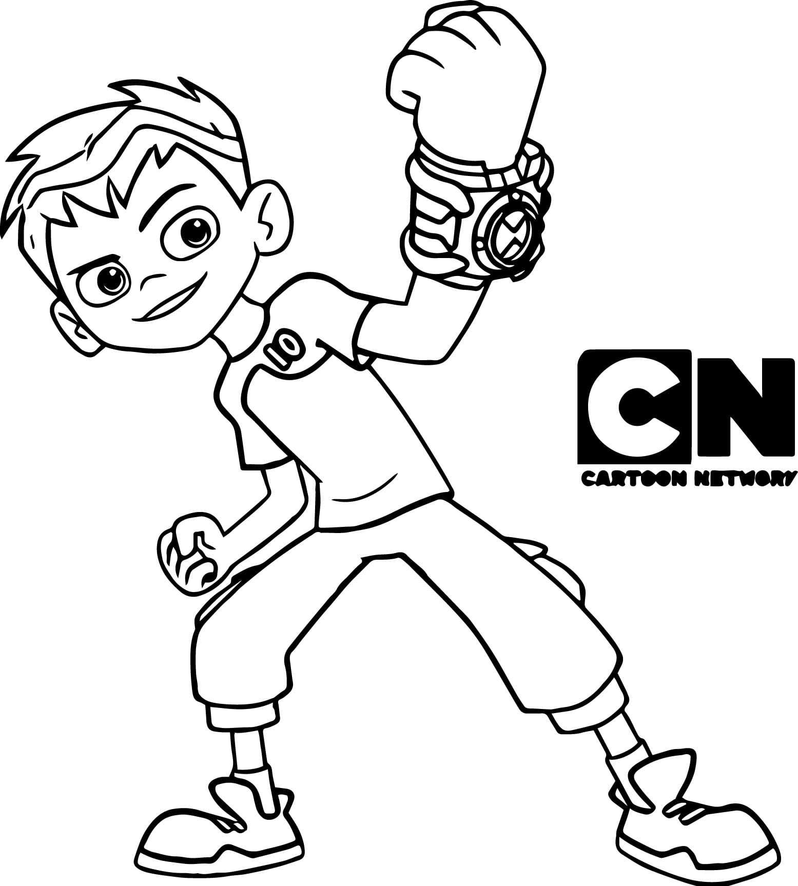 Ben 10 Coloring Pages Free In