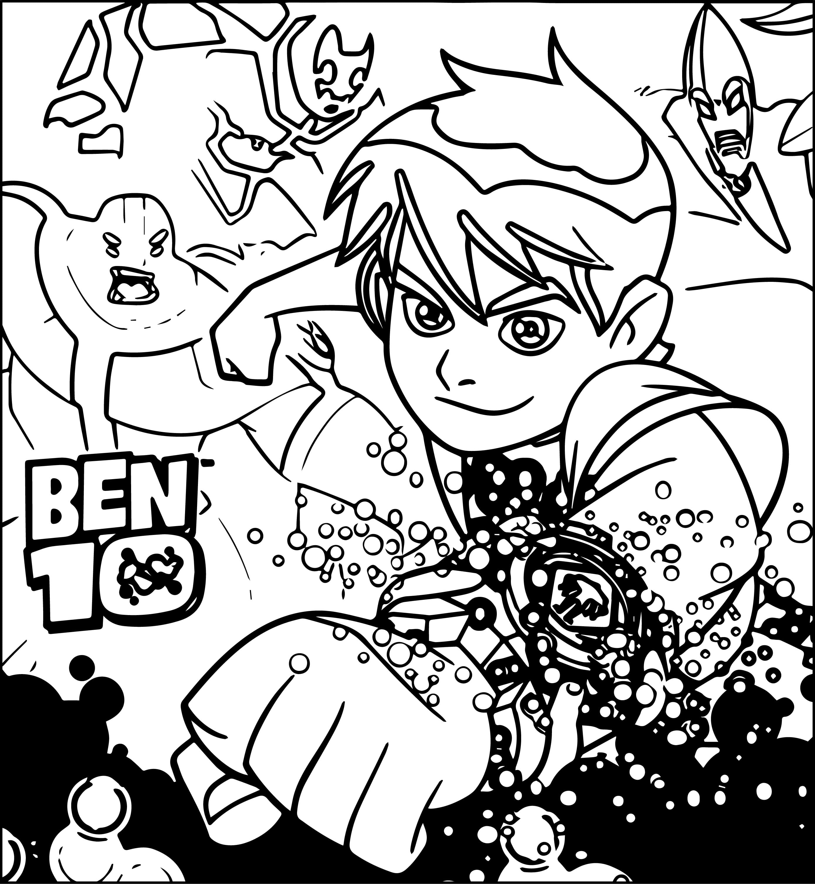 Ben 10 Coloring Pages Free Coloring Pages Coloring Pages 1309